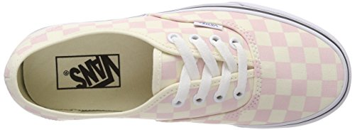 Chalk Checkerboard Pink White Classic Vans Authentic wE80qUgwx4