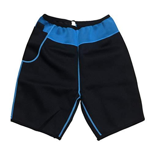 Sauna Grassi Yoga Adatta pantaloncini Ginnastica Per Uomo Novecasa Canotta Body Shaper Neoprene Pantaloncini Pantaloni Sudare I Fitness Bruciare Suana 51q6q