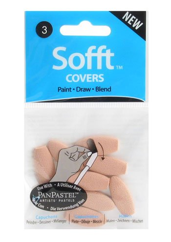 - Colorfin PP62003 Sofft Covers, Oval, No.3, 10-Pack