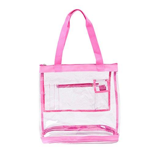 Clear Bag Zipper Closure Pockets product image