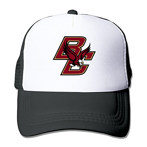MVIKI Unisex-Adult Boston College Golfer Caps Black