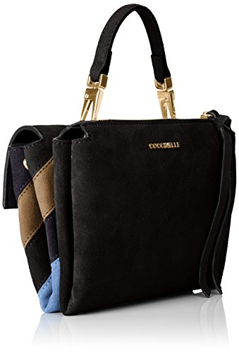 damen arlettis business tasche mehrfarbig noir 8x15x19 cm coccinelle wp0mq1g. Black Bedroom Furniture Sets. Home Design Ideas