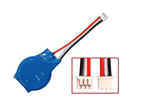 (CMOS Battery Replacement Part for DELL Latitude E4300 E4310 E1705 E5430 E5450 Backup Reserve Button Cell Batteries 3 Pins 3 Wires )