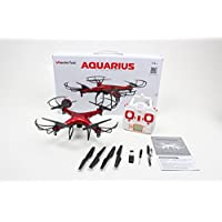 WonderTech Cumulus 2.4GHz 6-Axis Gyro Drone Quadcopter with HD FPV Real Time Live Video Feed Camera (Red)
