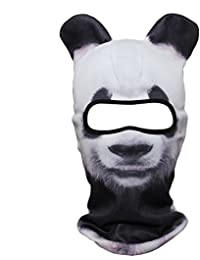 3D Animal Ears Balaclava Face Mask for Music Festivals, Raves, Ski, Halloween, Party Outdoor Activities
