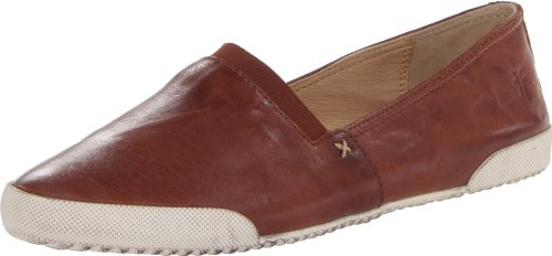 FRYE Women's Melanie Slip-On Fashion Sneaker, Cognac, 8.5 M US from FRYE