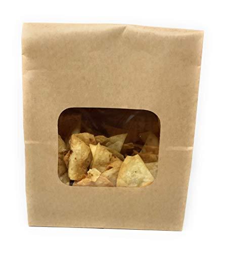 Chips Tortilla Flour Salted Large Fresh Pack
