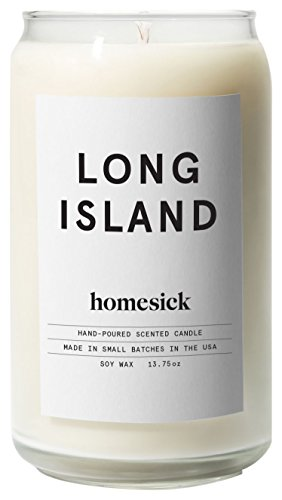 Homesick Scented Candle  Long Island
