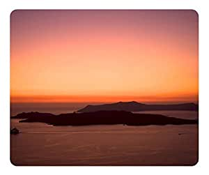 Mouse Pad Cruising At Sunset Desktop Laptop Mousepads Comfortable Office Mouse Pad Mat Cute Gaming Mouse Pad by runtopwell