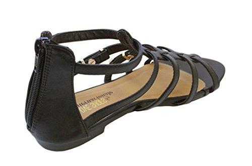 Twinkle Toes, Damen Stiefel & Stiefeletten Schwarz