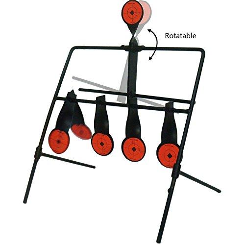 JUFENG .22 Rimfire Resetting Target, Outdoors Air Strike Pellet Shooting Target 5 Targets by JUFENG (Image #2)