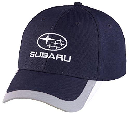 SUBARU Navy Colorblock Cap HAT Genuine Legacy Forester Impreza Outback Sti Wrx