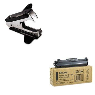 Muratec Inkjet Printer Ink (KITMURDK120UNV00700 - Value Kit - Muratec DK120 Drum (MURDK120) and Universal Jaw Style Staple Remover (UNV00700))