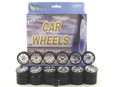 Diecast Replacement (Replacement Rims For 1/24 Scale Cars & Trucks)