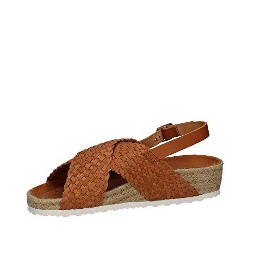 KEYS 5361 Sandales compensées Femmes Brun Bcm2rXXFi
