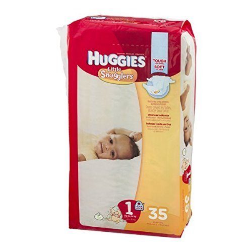 Huggies Diapers Little Snugglers Disney Size 1 (Up to 14 lb) - 35 CT