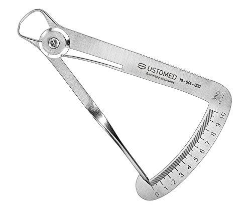 ustomed Instruments 10– 941– 000 iwanson bouton-poussoir Compas, plage de mesure de 0 mm 10 mm plage de mesure de 0mm 10mm Ulrich Storz GmbH & Co. KG 10-941-000