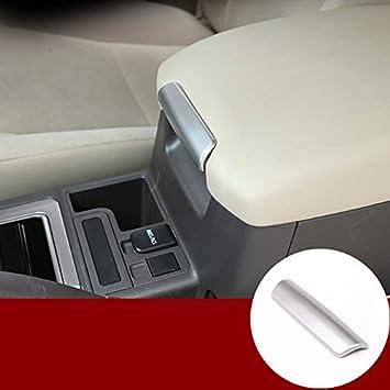 Carbono Apoyabrazos Acolchado Consola Central Caja para Toyota Land Cruiser