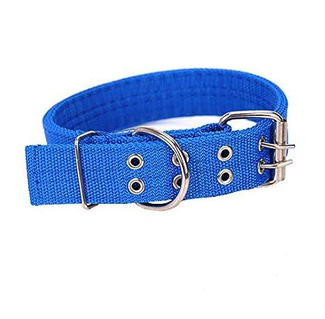 Renfengchui Tamaño: XL Doble Botonadura Mediano Collar De Perro ...
