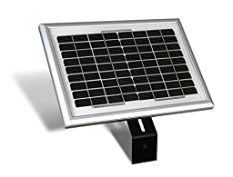 USAutomatic 0520015 Solar Panel Kit with 5 Watt Panel for Sentry Gate Openers