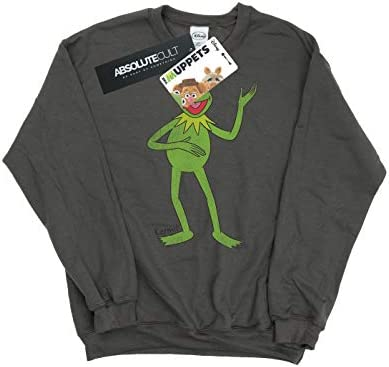 Muppets Herren Classic Kermit Sweatshirt Medium Holzkohle