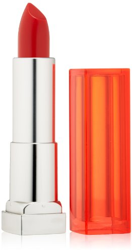 Maybelline New York Color Sensational Vivids Lipcolor, Neon Red, 0.15 Ounce, 1 Count