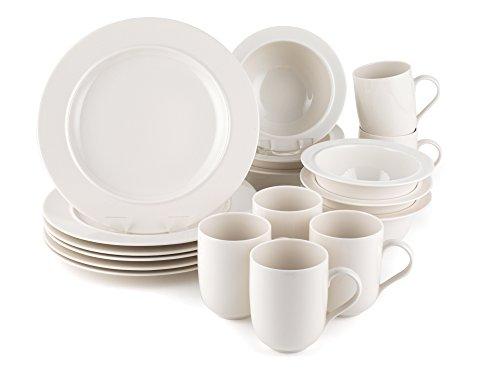 Alessi La Bella Tavola Porcelain 6 Place Setting Dining Set Buy