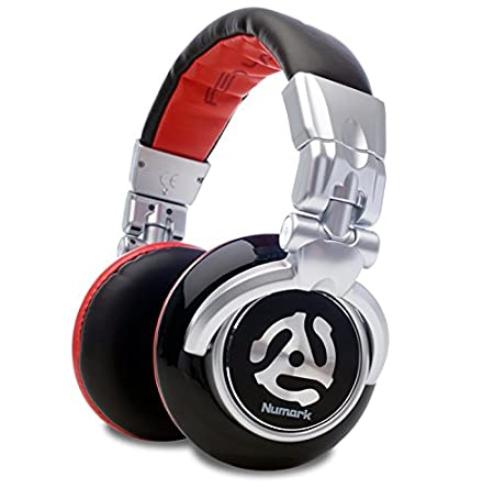 4e7d8d8c3f0 Numark Red Wave | High-Quality Full-Range DJ Headphones: Amazon.co.uk:  Electronics