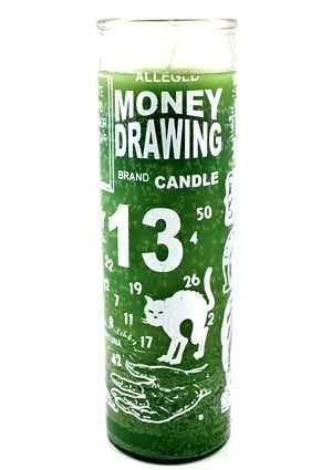 Money Drawing 7 Day Jar Candle (Money Drawing Candle)
