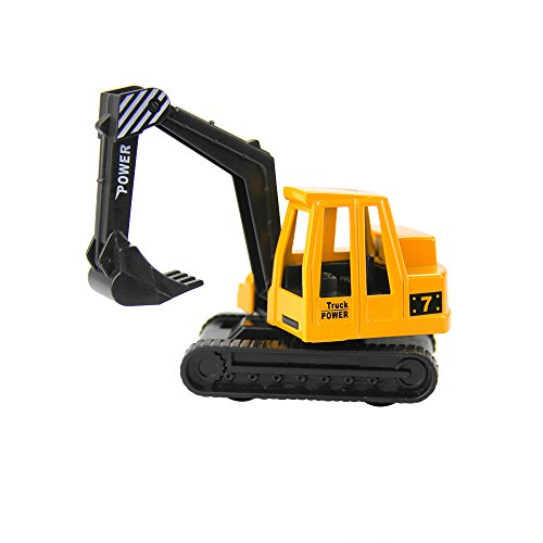 Construction Vehicles Mini Engineering Vehicles Alloy Material Excavator Toy 5""