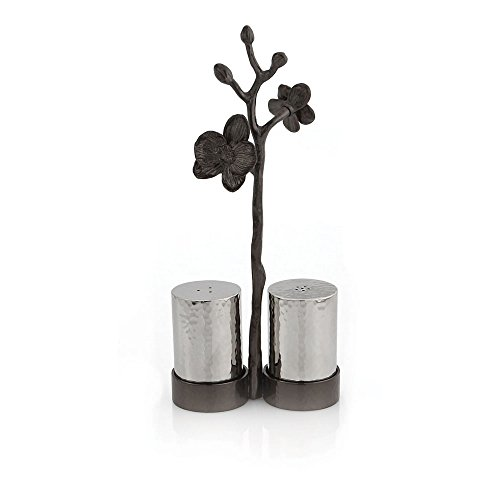 Michael Aram Black Orchid Salt & Pepper Set by Michael Aram