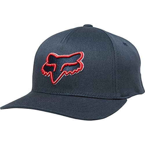 Hat Adjustable Fox - Fox Boys' Big Youth Epicycle 110 Snapback, Navy/Red OS