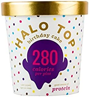 product image for Halo Top, Birthday Cake Ice Cream, Pint (Pack of 8 )