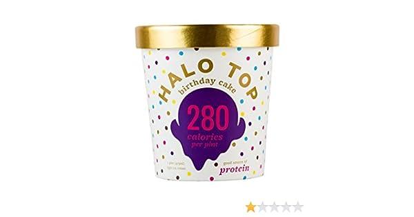 Halo Top Birthday Cake Ice Cream Pint Pack Of 8