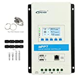 Latest MPPT 10a Solar Charge Controller, 12V 24V TRIRON 1206N Intelligent Regulator Dual USB Port PC Software Moblie APP Modular-Designed[Updated Version Tracer A/an Series]