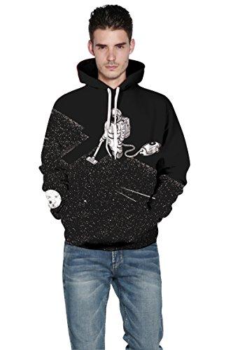 YISUMEI Unisex Hoodie Hooded Sweatshirt 3D Print