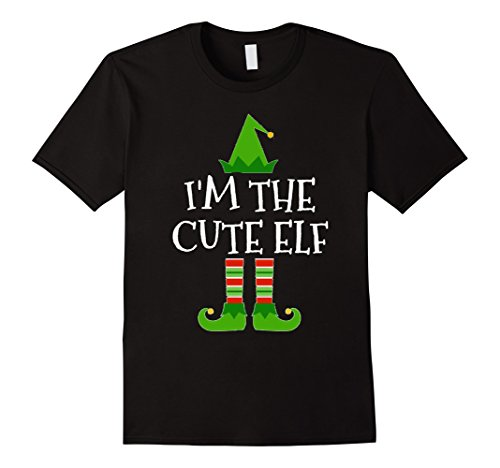 I'm The Cute Elf Matching Family Group Christmas T Shirt