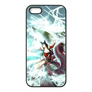 League of Legends Ahri06.jpgiPhone 5 5s Cell Phone Case Black 05Go-443461