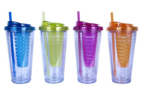 Cool Gear ECO 2 Go Chiller with Flavor Infuser (Color May Differ)