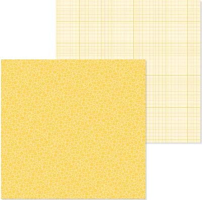 Doodlebug 6092 PP Paper 12x12 F/G Bumblebee None