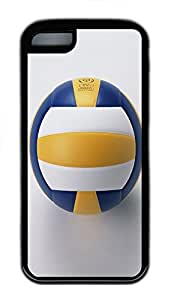 for iphone 5c Case Volleyball TPU for iphone 5c Case Cover Black