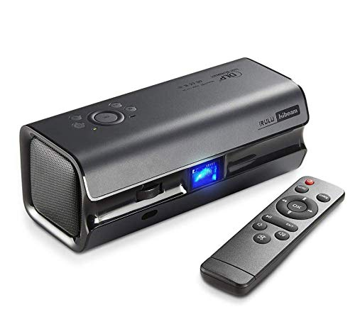 (Hibeam Portable Movie Projector | Mini DLP Home Theater Projectors, 120