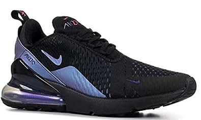 Nike Air Max 270, Men's Shoes, Black (Purple) (36 EU, Black)