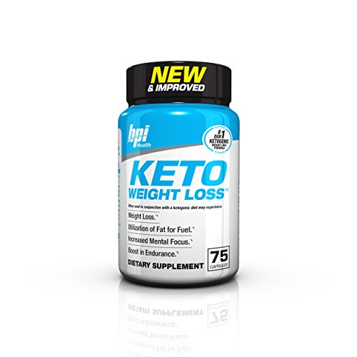 BPI Health Keto Weight Loss - Ketogenic Fat Burner - Keto Weight Loss Pills - Raspberry Ketones - Supports Mental Focus - Promotes Endurance - Burn Fat for Fuel - 75 Capsules