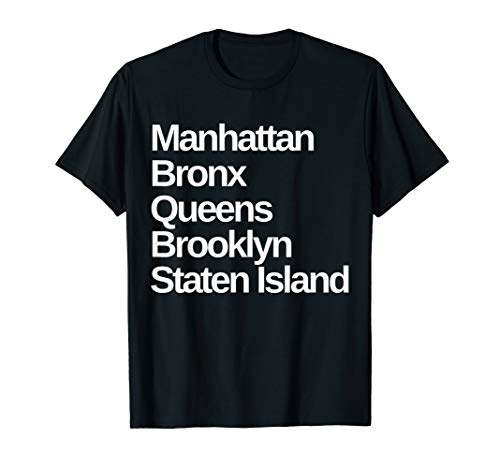 New York 5 Boroughs T-Shirt