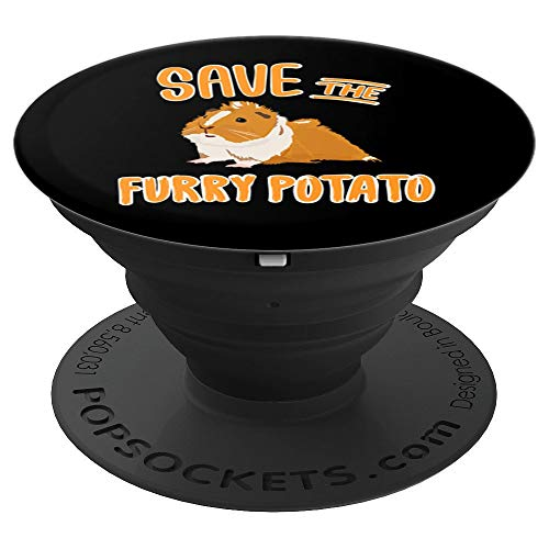 Guinea Pig Furry Potato Smartphone Accessories Gift Kids - PopSockets Grip and Stand for Phones and Tablets