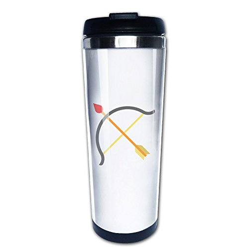 ZOOZERA Coffee Cups Leakproof Tumbler Bow Travel Mug (Night World Strange Fate compare prices)