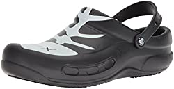 Crocs Unisex Bistro Graphic Clog,blackwhiteblack,12 Us Men14 Us Women