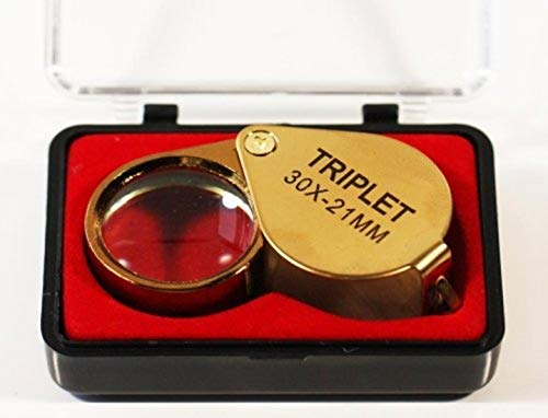 Coin Collectors Professional Magnifying Eye Loupe 30x Optical Glass