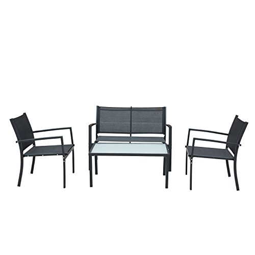 Supernova 4 Pcs Table & Chairs Set Sectional Furniture by Supernova